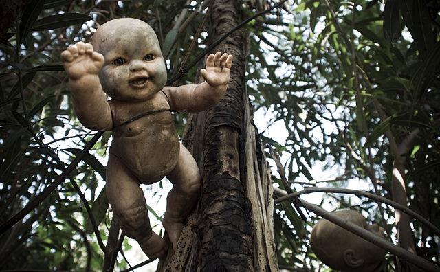 Doll close up Isla de las munecas